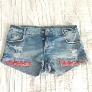 NWOT Jean Zara Shorts size 6 or Small